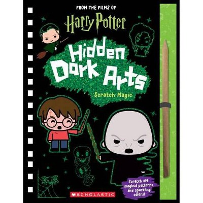 Harry Potter: Hidden Dark Arts: Scratch Magic - by  Jenna Ballard (Paperback)
