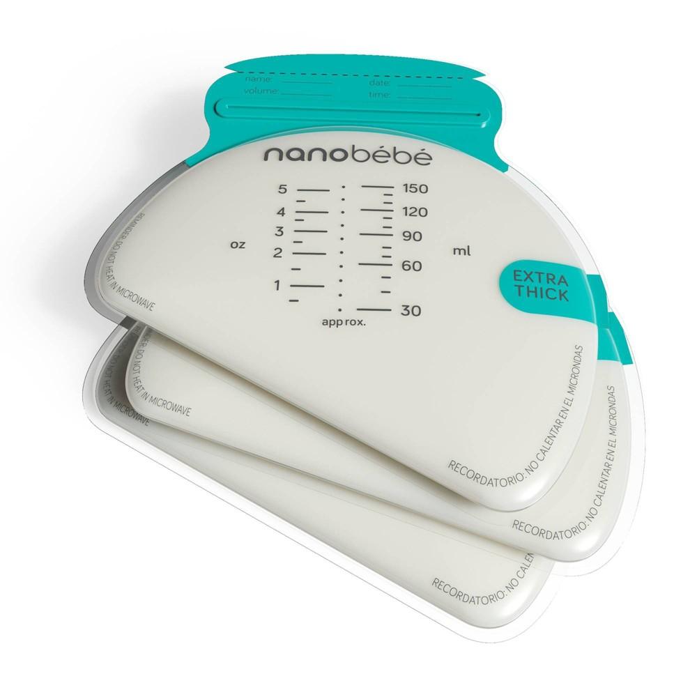 Image of Nanobebe 50ct Breast Milk Storage Bags
