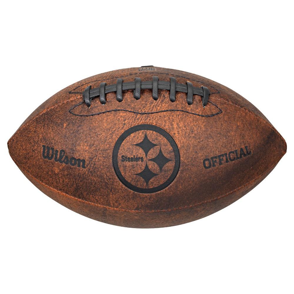 Pittsburgh Steelers Rico Industries Throwback Football - 9