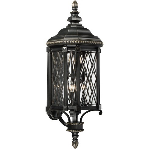 The Great Outdoors 9323-585 6 Light Outdoor Wall Sconce from the Bexley Manor Collection - image 1 of 1