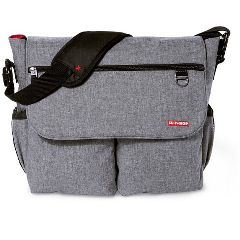 Skip Hop Dash Signature Diaper Bag - Heather Gray - image 1 of 4