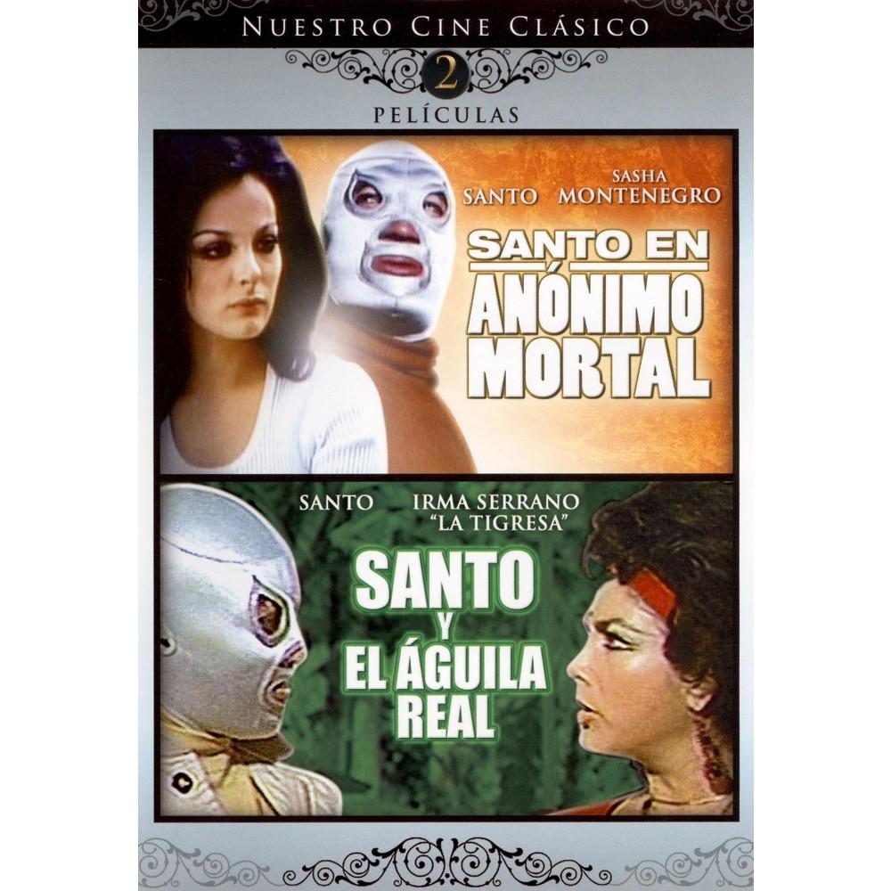 Santo En Anonimo Mortal/Santo Y El Ag (Dvd)
