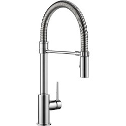 Delta Faucet 9659-DST Trinsic Pro Pre-Rinse Pull-Down Kitchen Faucet