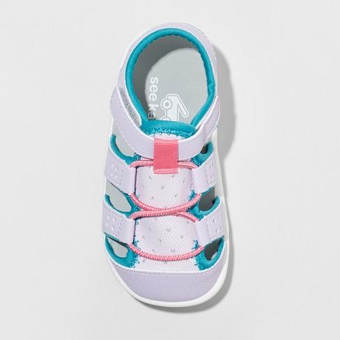 8470f2f76168 Toddler Girls  See Kai Run Basics Spencer Fisherman sandals - Lavender.  Shop all See Kai Run Basics