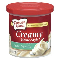 Duncan Hines Vanilla Frosting - 16 oz