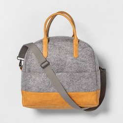 Weekender Bag Heather Gray - Hearth & Hand™ with Magnolia