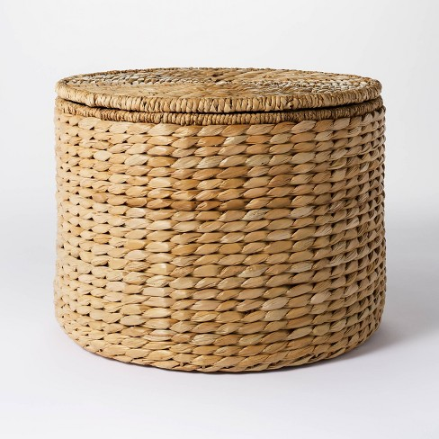 Woven Storage Ottoman Natural - Threshold™ designed with Studio McGee - image 1 of 4