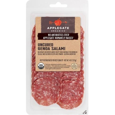 Applegate Organics Uncured Genoa Salami - 4oz - image 1 of 4