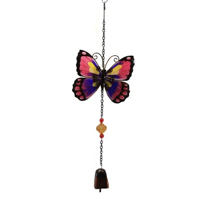"Home & Garden 18.0"" Butterfly Garden Bell Landscape Chime Decor Regal Art & Gift  -  Bells And Wind Chimes"