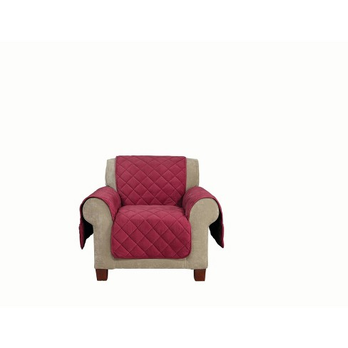 Comfort Memory Foam Chair Furniture Cover - Sure Fit - image 1 of 4