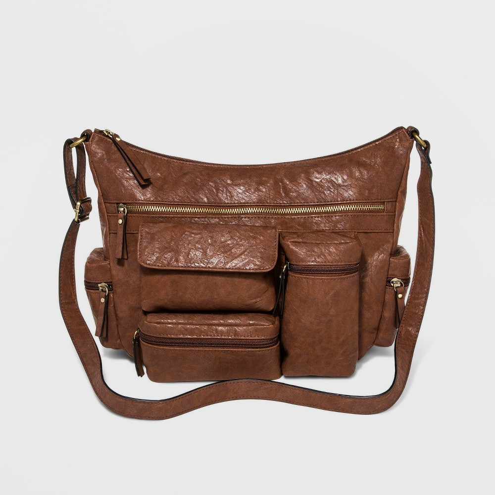 Women's Veg Tan Hobo Bags - Bueno of California Brown