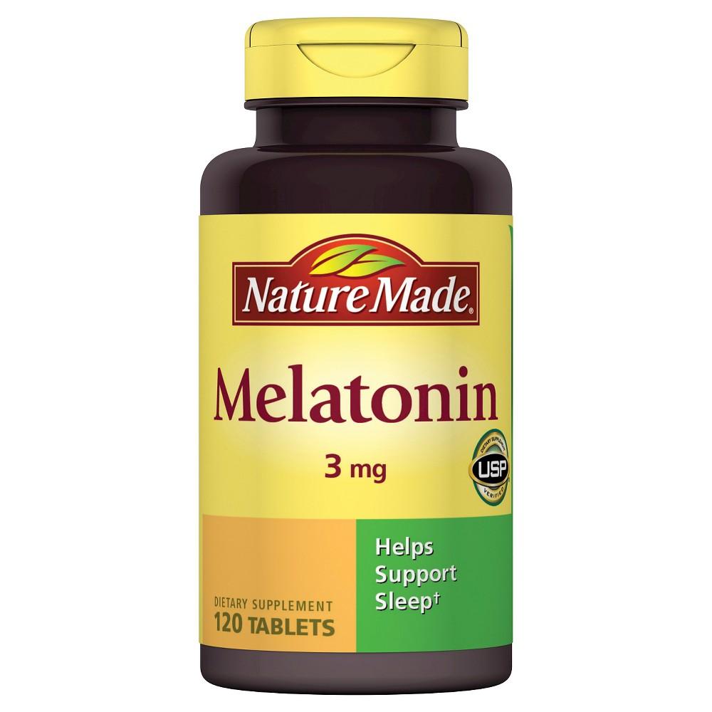 Nature Made Melatonin Dietary Supplement Tablets - 120ct