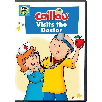 Caillou: Caillou Visits the Doctor (DVD)(2019)