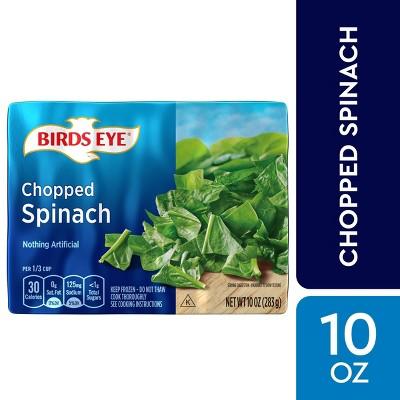 Birds Eye Frozen Chopped Spinach - 10oz