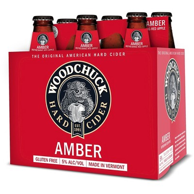 Woodchuck Amber Hard Cider - 6pk/12 fl oz Bottles