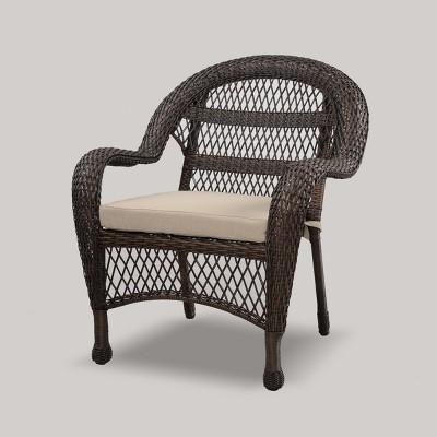 Wicker Patio Club Chair - Brown - Threshold™