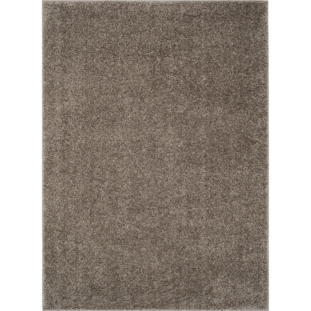 4'X6' Solid Loomed Area Rug Gray - Safavieh