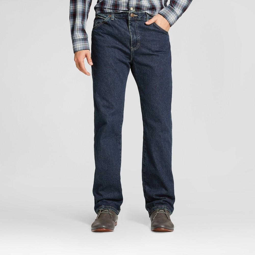 Dickies Men's Big & Tall Regular Straight Fit Denim 6-Pocket Jeans - Khaki Tint 44x32