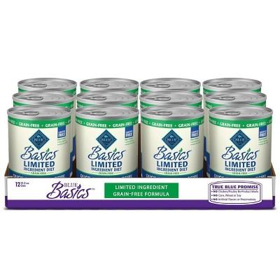Blue Buffalo Basics Limited Chicken free Wet Dog Food - 12pk/12.5oz