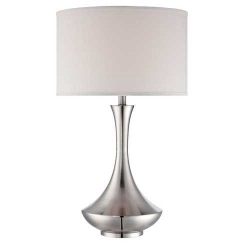Lite Source Elisio 1 Light Table Lamp (Lamp Only) - Polished Steel - image 1 of 1