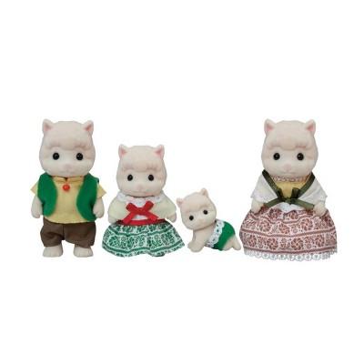 Woolly Alpaca Family