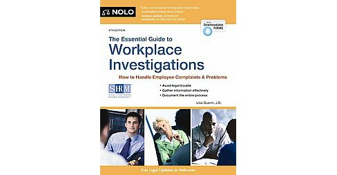 Essential Guide to Workplace Investigations : A Step-By-Step Guide to Handling Employee Complaints & - image 1 of 1