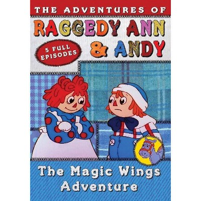 Adventures of Raggedy Ann & Andy: The Magic Wings Adventure Volume 3 (DVD)(2019)