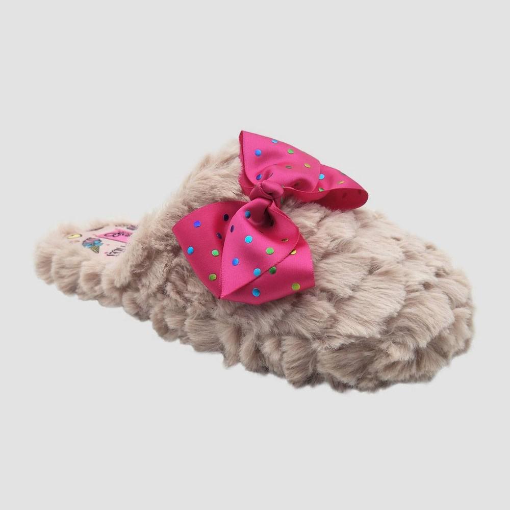 Image of Girls' JoJo Slide Slippers - Pink L(4-5), Girl's, Size: Large (4-5)