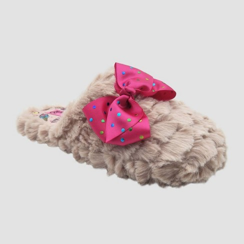 Girls' Nickelodeon JoJo Slide Slippers - Pink - image 1 of 3
