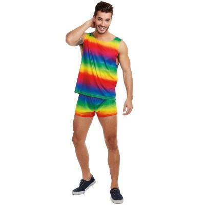 Dreamgirl Festive Rainbow Adult Costume