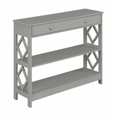 Diamond 1 Drawer Console Table - Johar Furniture