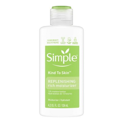 Facial Moisturizer: Simple Replenishing Rich Moisturizer