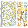 Woodland Fox and Friends Tree Peel and Stick Wall Decal - RoomMates - image 2 of 4