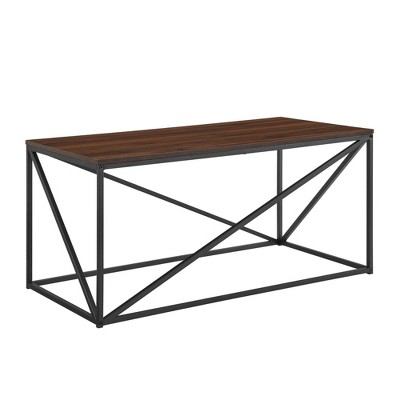 "40"" Modern Geometric Coffee Table - Saracina Home"