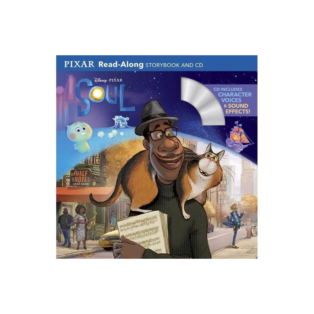 Disney Pixar Soul Read Along Storybook And Cd Paperback