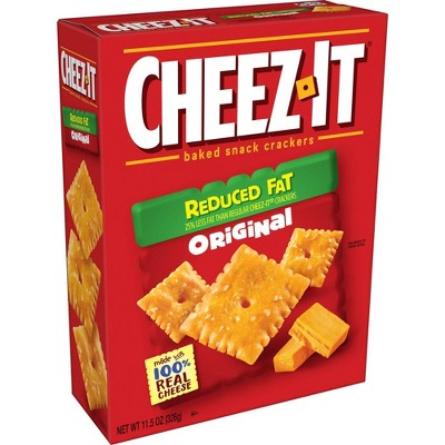 Cheez-It Reduced Fat Baked Snack Crackers - 11.5oz