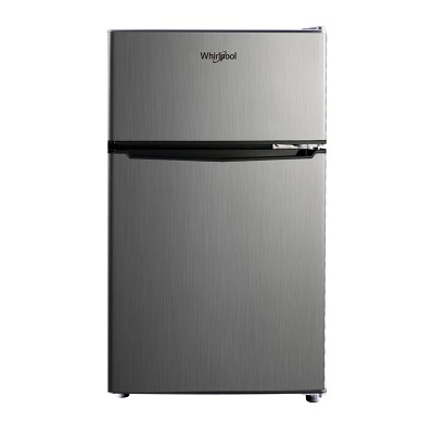 Whirlpool 3.1 cu ft Mini Refrigerator Stainless Steel WH31S1E