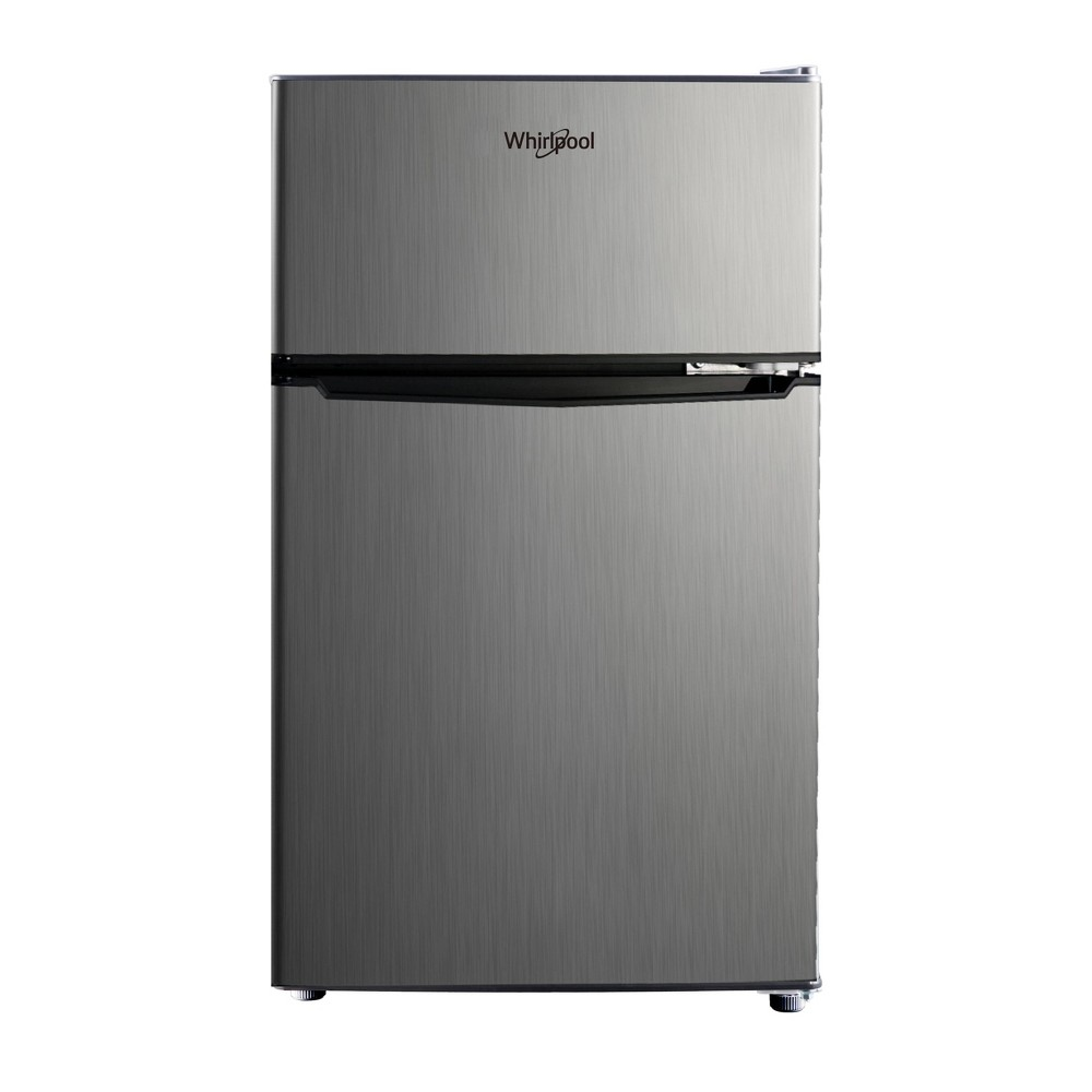 Image of Whirlpool 3.1 cu ft Mini Refrigerator Stainless Steel BCD-88V