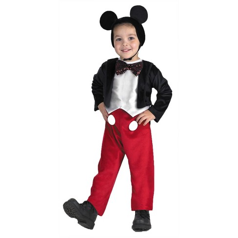 toddler mickey mouse deluxe halloween costume 3t 4t target toddler mickey mouse deluxe halloween costume 3t 4t