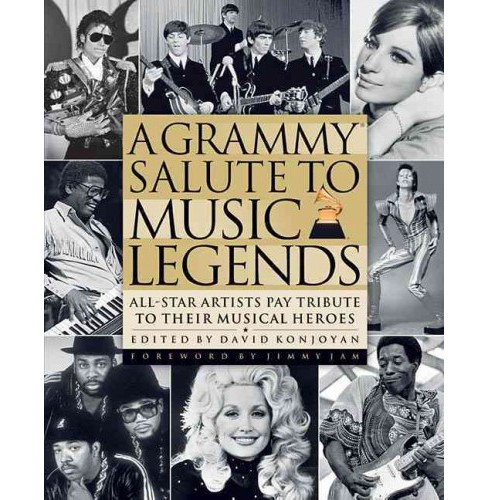 Grammy Salute to Music Legends : All-Star Artists Pay Tribute to Their Musical Heroes (Hardcover) - image 1 of 1