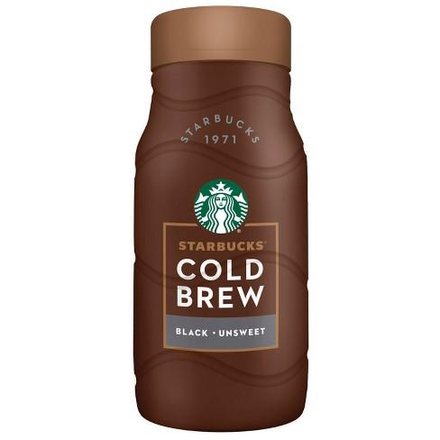 Starbucks Cold Brew Black Unsweetened Coffee - 40 fl oz - image 1 of 3