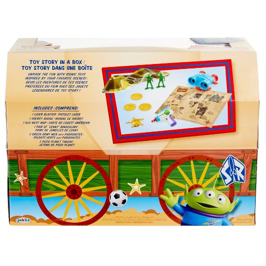 Toy Story in a Box 10pc Set image number null