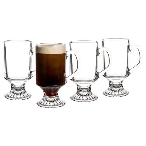a9f11606431 Cathy's Concepts 10oz 4pk Irish Coffee Mugs : Target