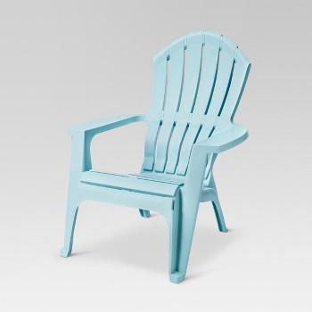 RealComfort Resin Adirondack Chair (Blue or Gray)