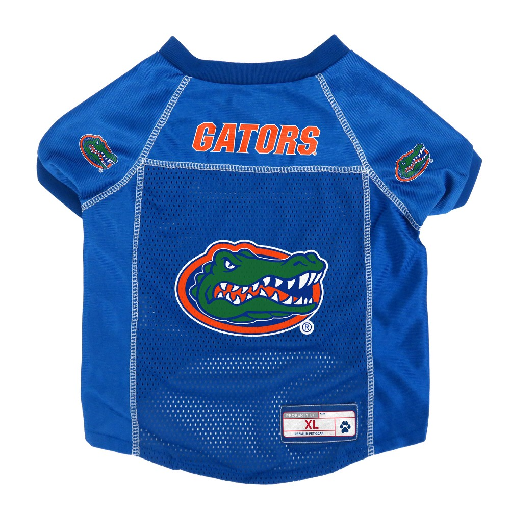 Florida Gators Little Earth Pet Football Jersey - S, Multicolored