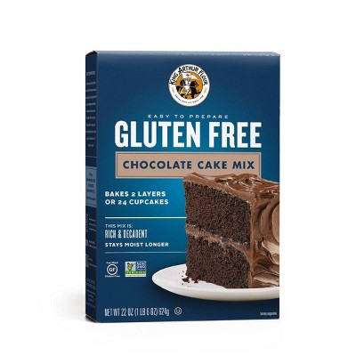 Baking Mixes: King Arthur Gluten Free Chocolate Cake Mix