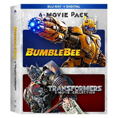 Bumblebee and Transformers Ultimate 6 film Collection (Blu-Ray + Digital)