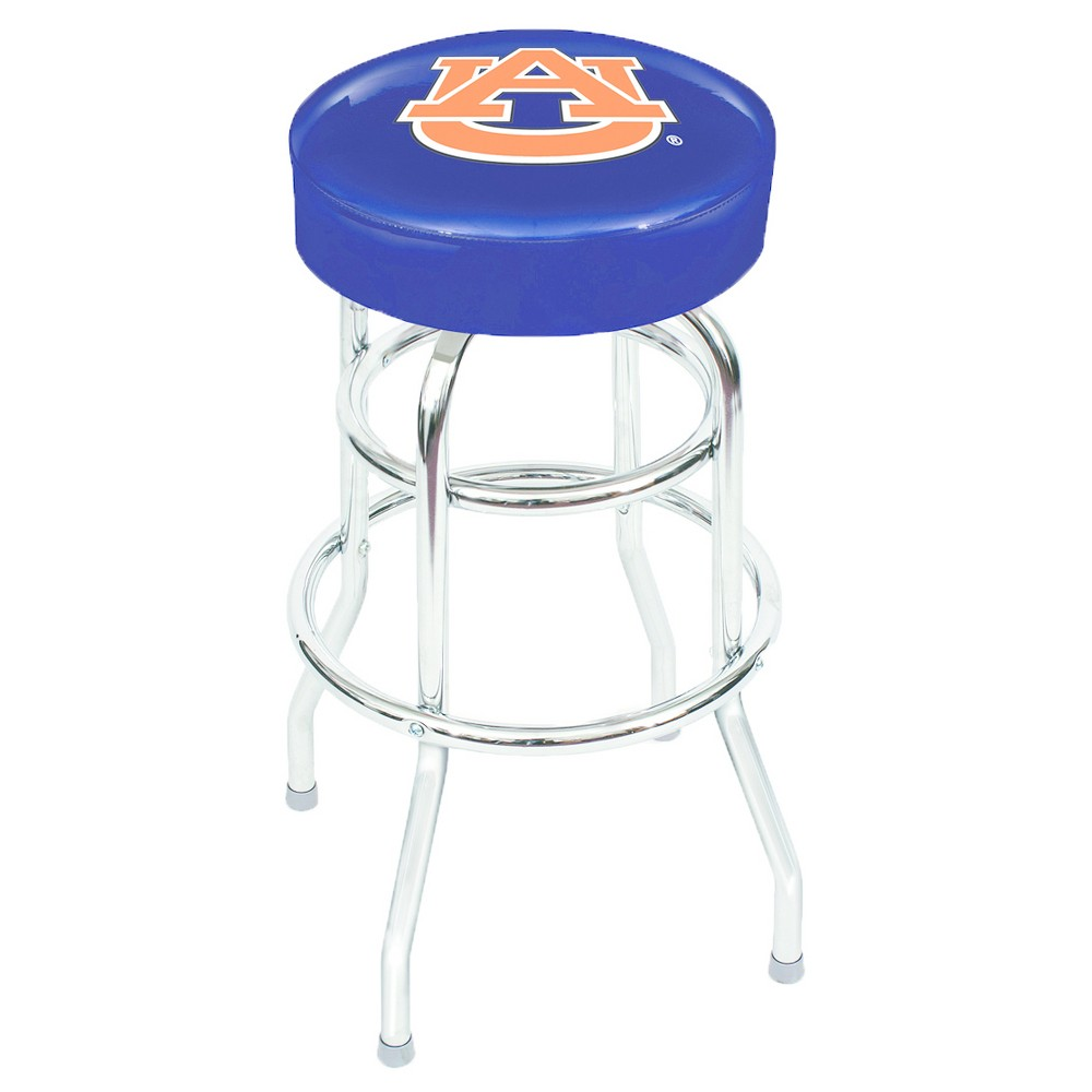 NCAA Imperial Auburn Tigers Chrome Bar Stool