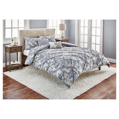Gray Natalie Cotton Multiple Piece Comforter Set   5pc : Target