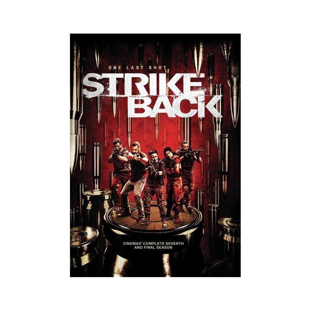 Strike Back Cinemax Season Seven Dvd 2020